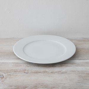 白皿 28cm 中の平たいところ19cm