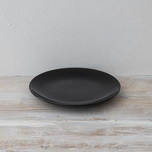 黒皿 21cm ×2枚あり