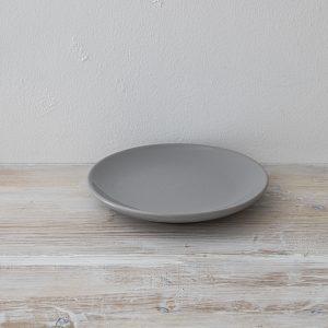 グレー皿  20cm